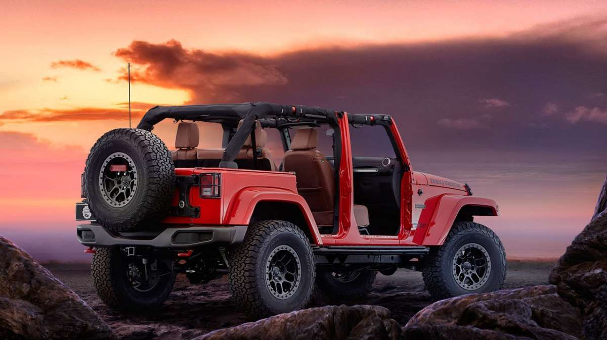 Jeep Wrangler Red Rock Concept posteriore