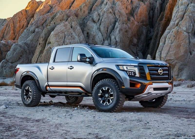 Nissan Titan Warrior, è aggressivo