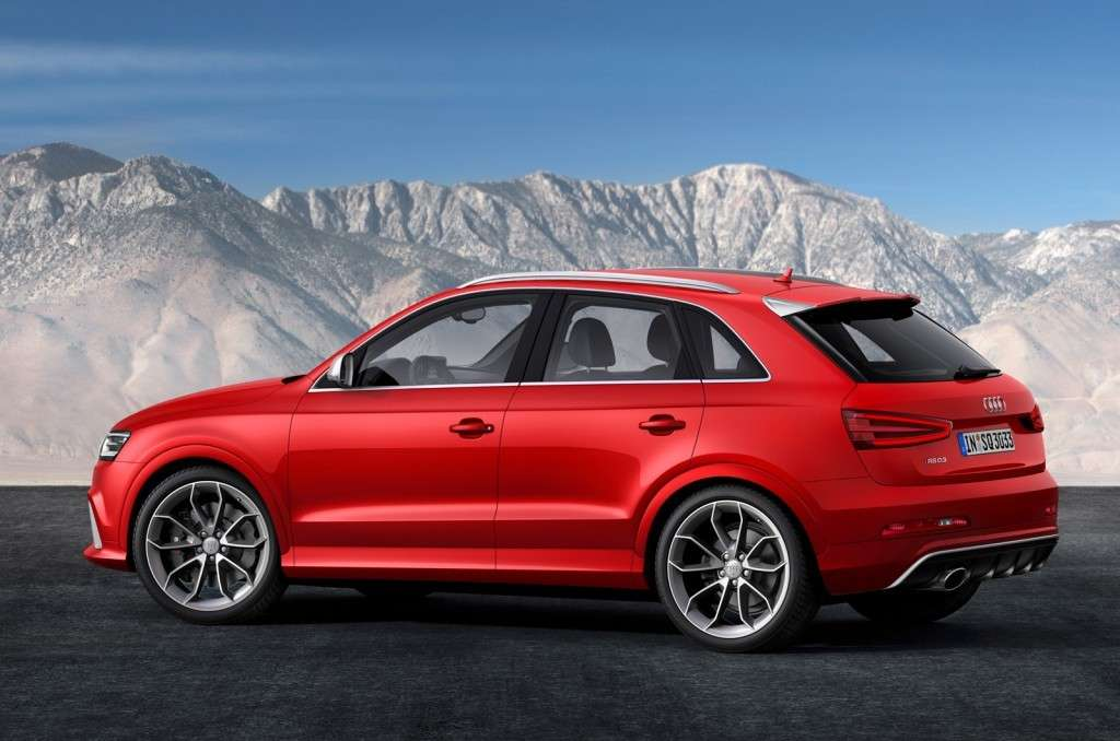 Audi RS Q3 alternativa di potenza