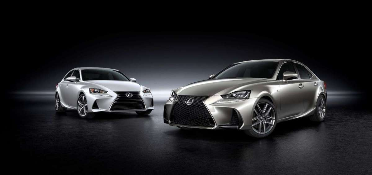 Lexus IS restyling