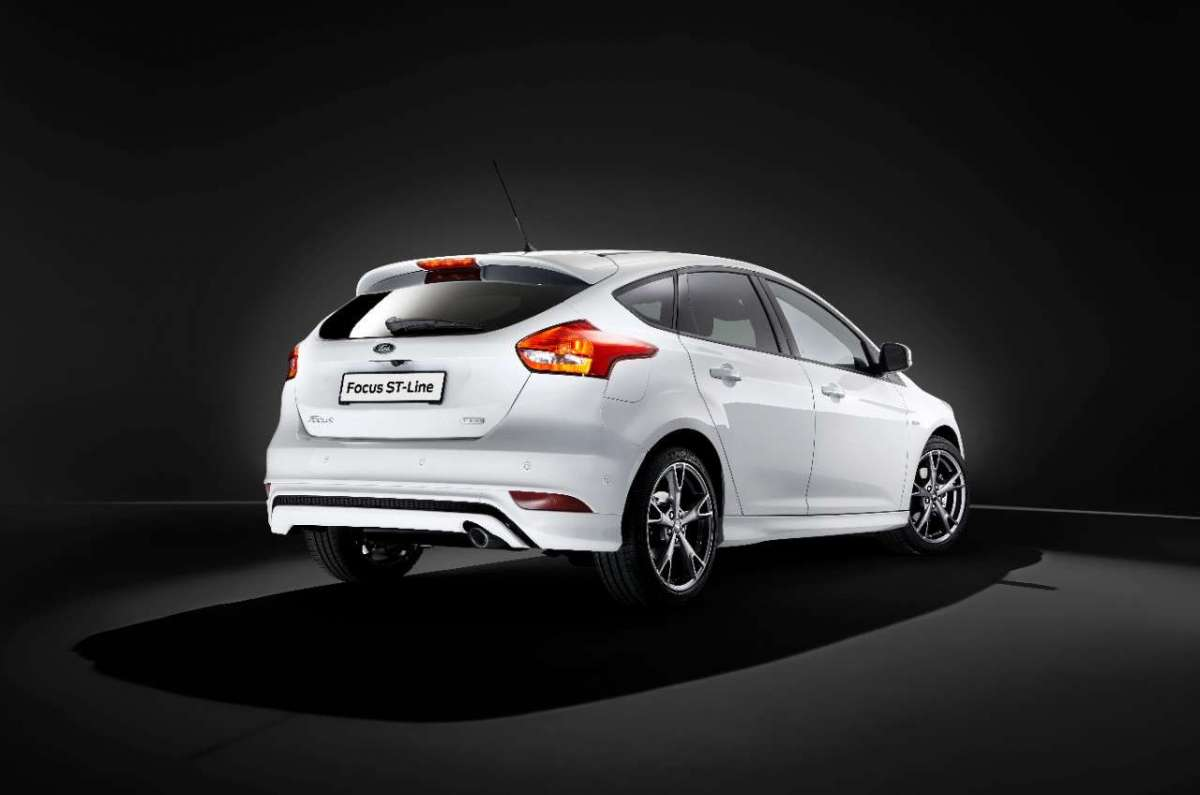 Ford Focus ST-Line, posteriore