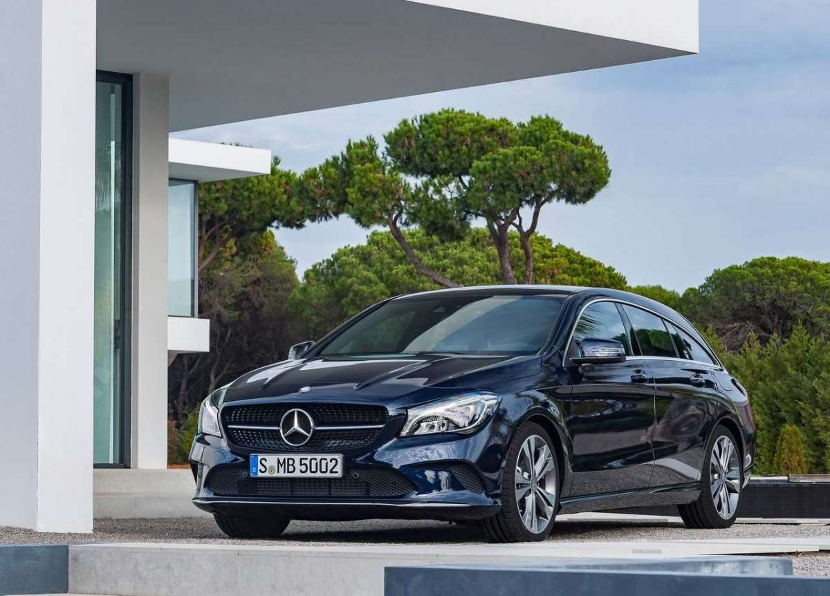Mercedes-Benz CLA Shooting Brake 2016 restyling