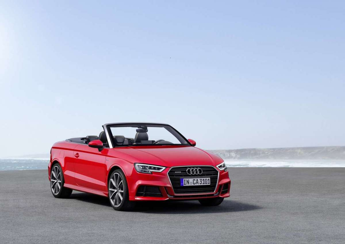 Anteriore dell'A3 Cabriolet 2016 restyling