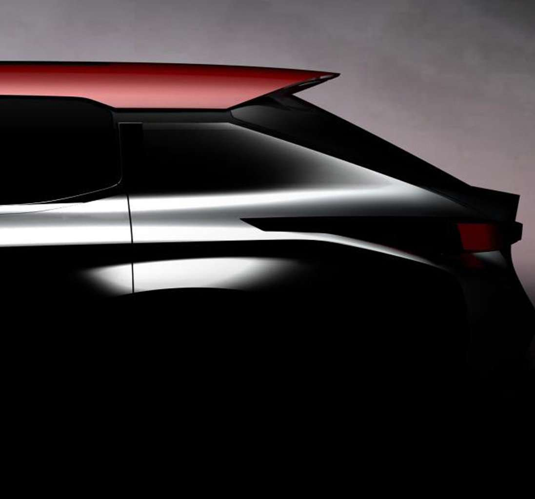 Mitsubishi Ground Tourer Concept posteriore