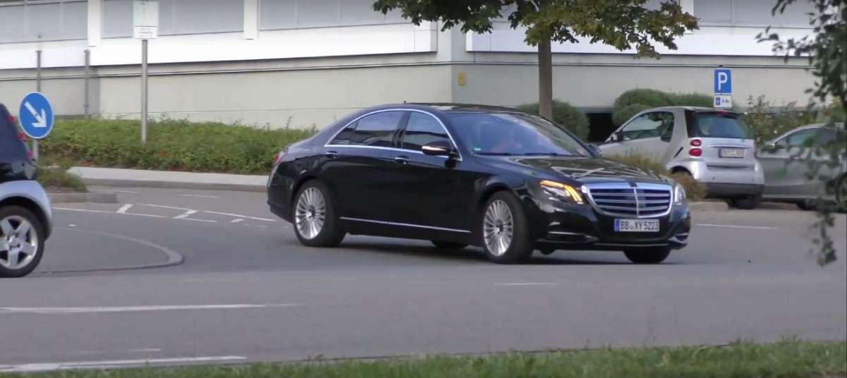 Mercedes Classe S 2017 restyling: foto spia