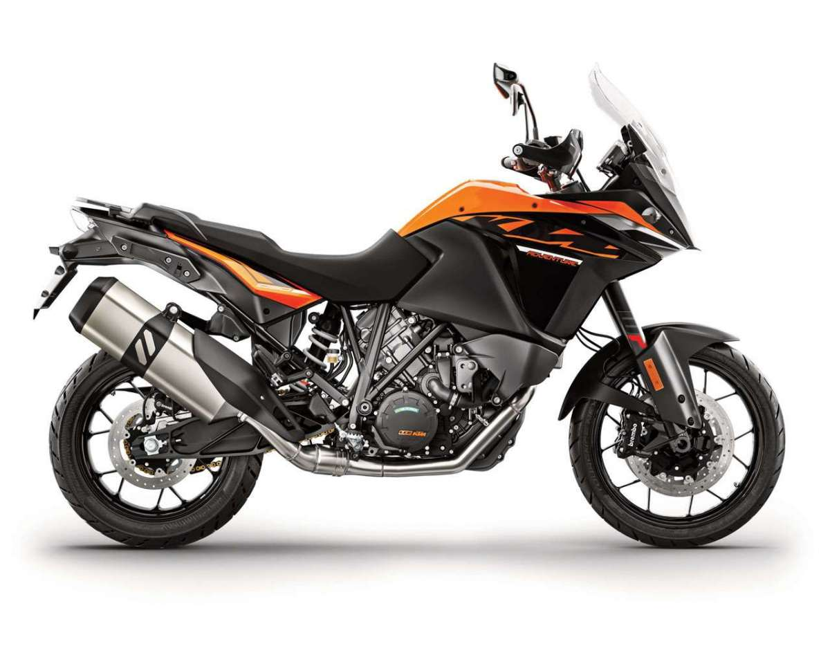 KTM 1090 Adventure MY 2017 fianco