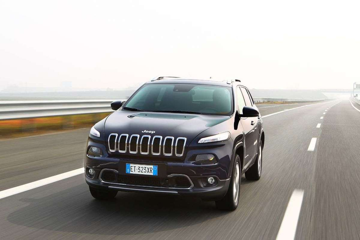 Jeep Cherokee Limited frontale