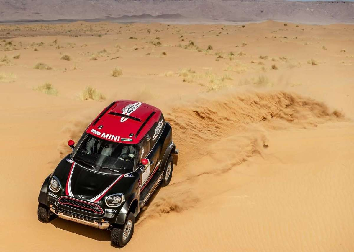 Mini John Cooper Works Rally per la Dakar