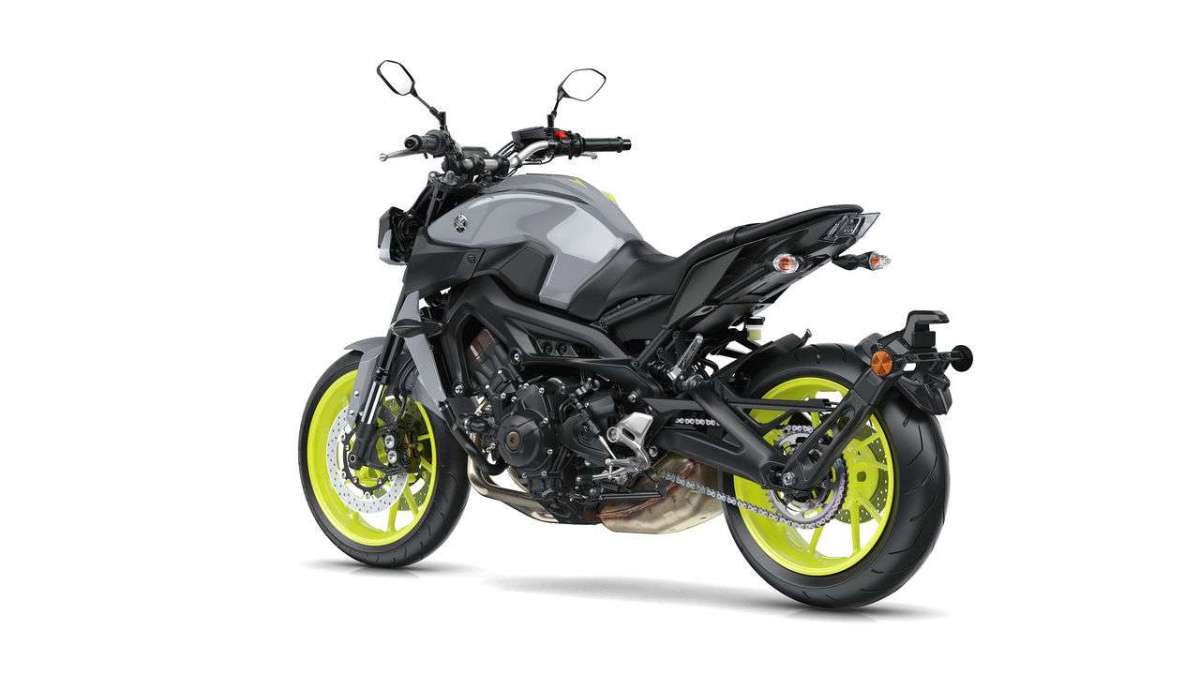 Yamaha MT 09 2017 retro