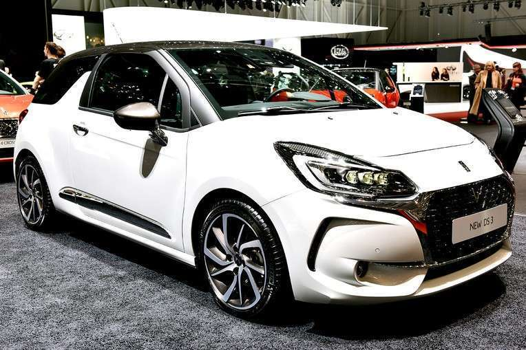 DS 3 2017 frontale