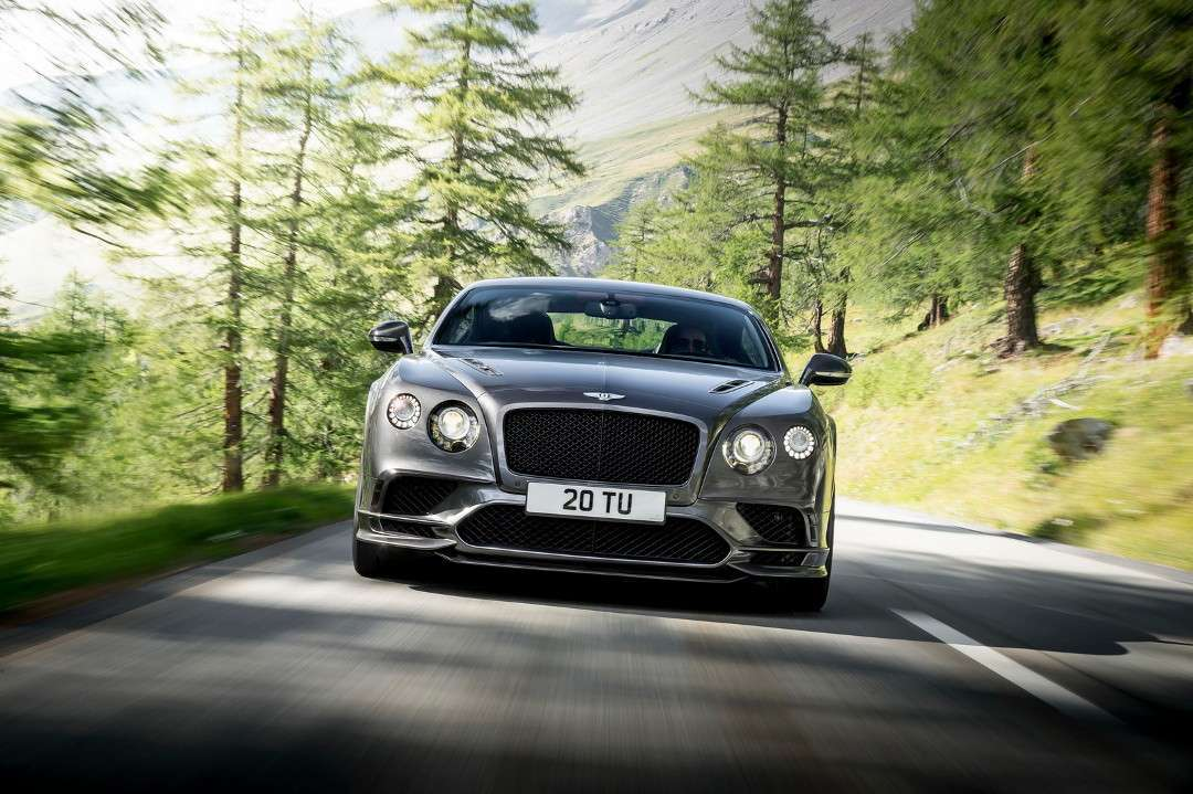 Bentley Continental Supersports MY 2017 anteriore