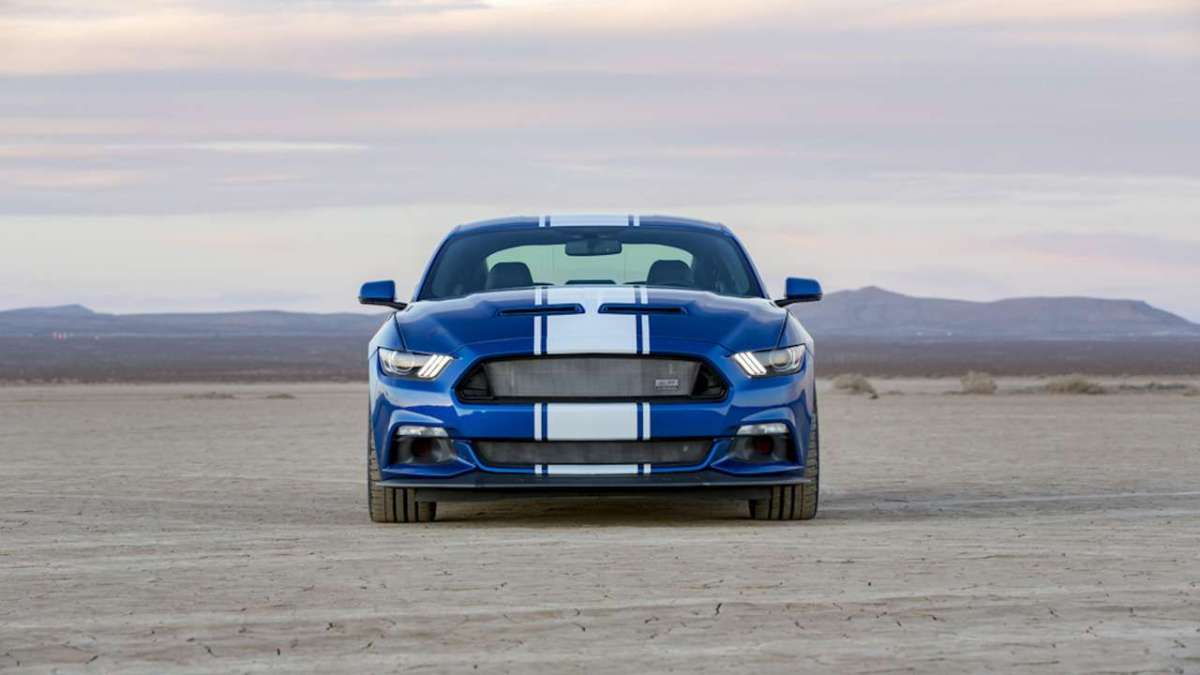 Ford Mustang Shelby 50th Anniversary frontale