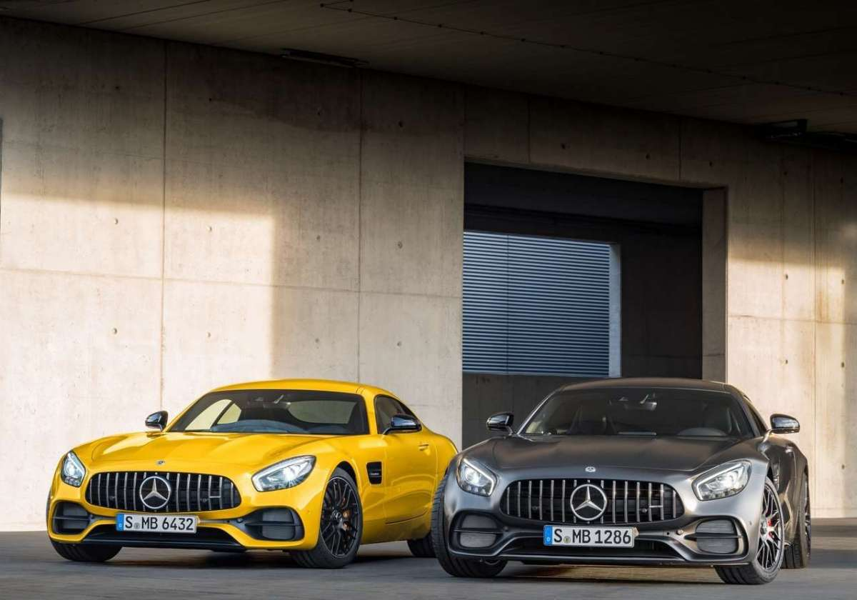 Motore di Mercedes AMG GT C Coupe 50 Edition