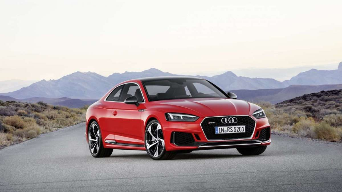 Audi RS5 2017 frontale