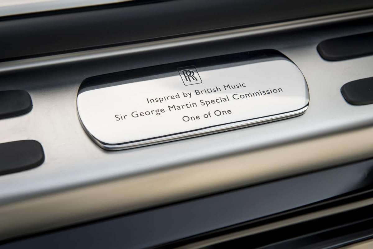 Rolls Royce Wraith Inspired by Music di George Martin