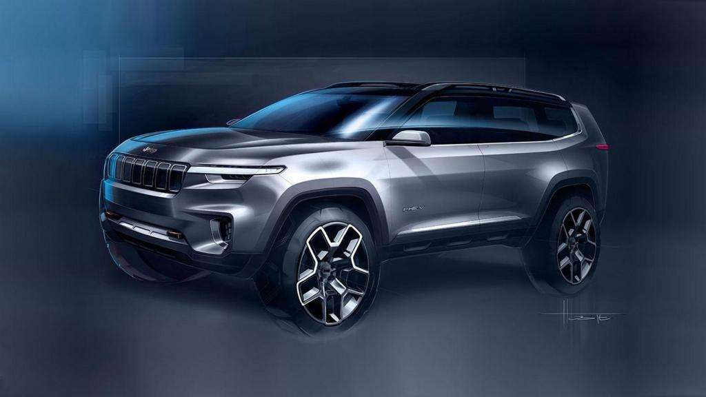 Jeep Yuntu Concept 2017 sketch
