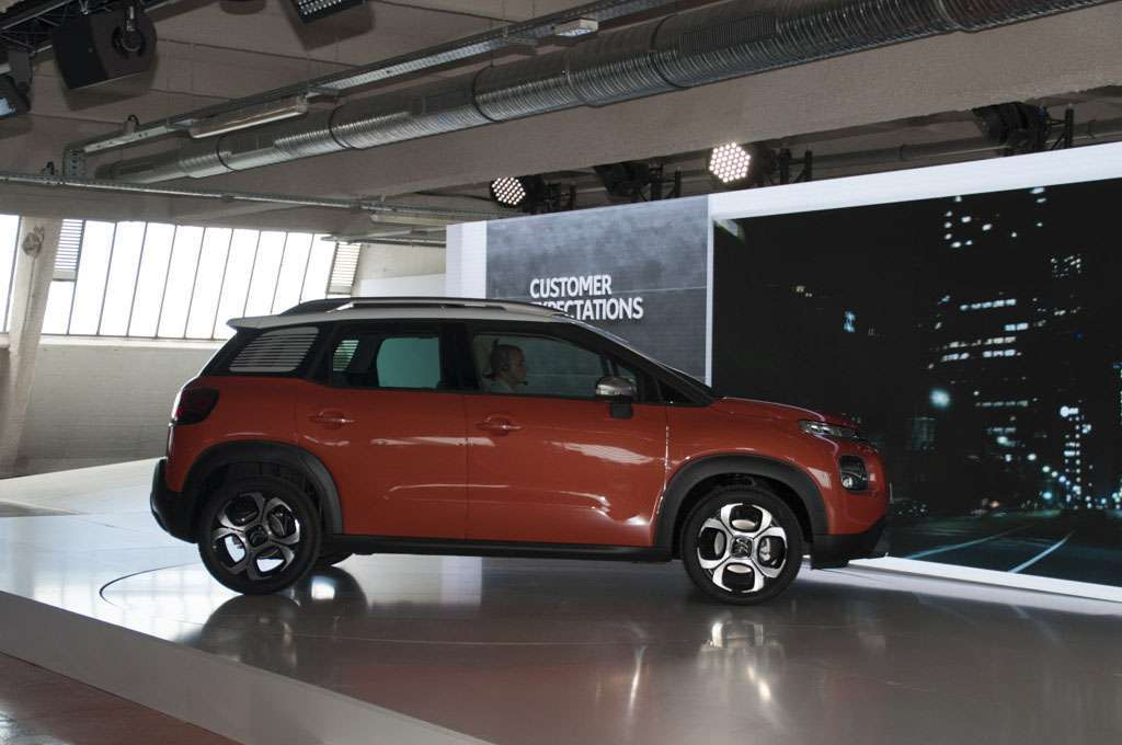 Citroen C3 Aircross, dimensioni