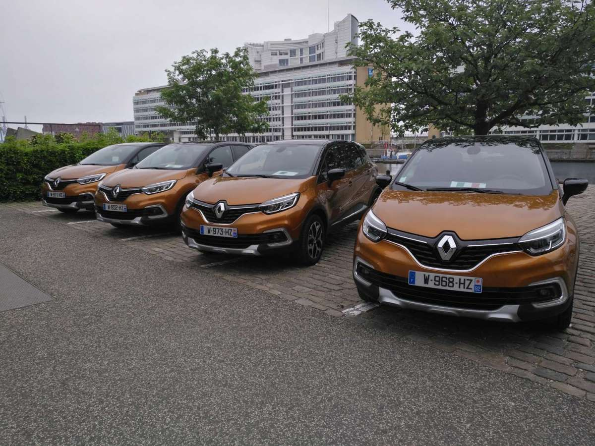 Nuovo Renault Captur 2017, test drive