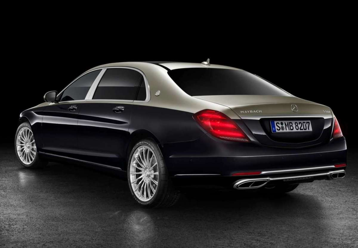 Mercedes-Benz Classe S Maybach bicolore