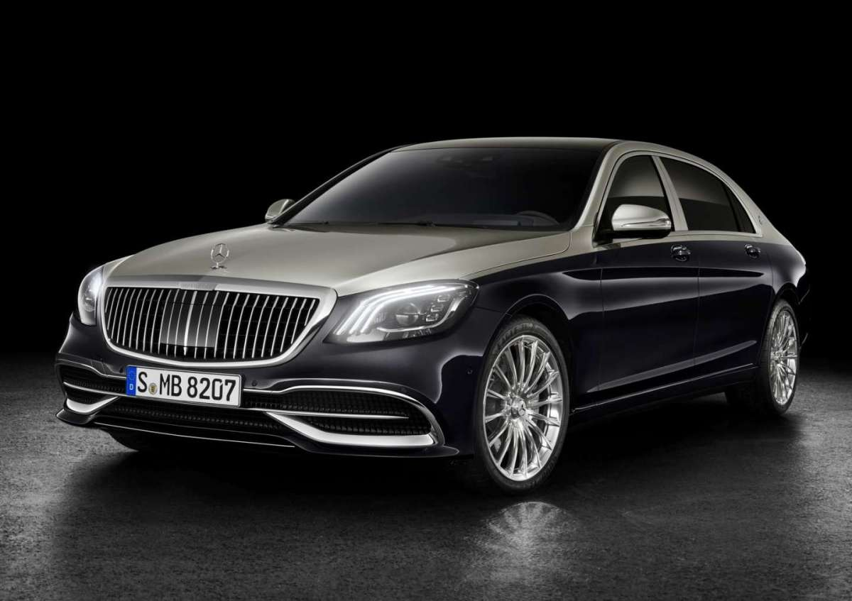 Mercedes Maybach Classe S 2018 restyling