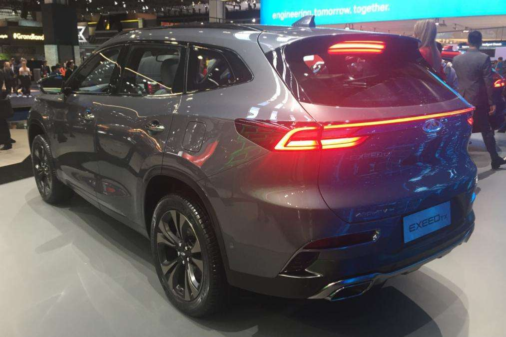 Chery Exceed TX SUV posteriore