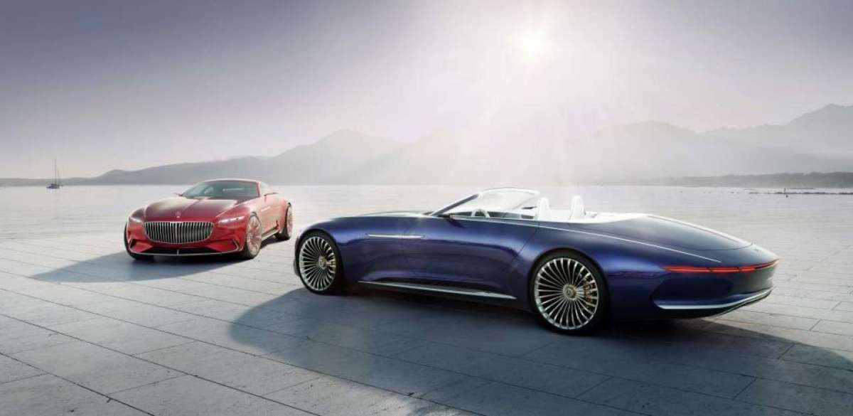 Mercedes-Maybach Vision 6 Cabriolet e Coupé