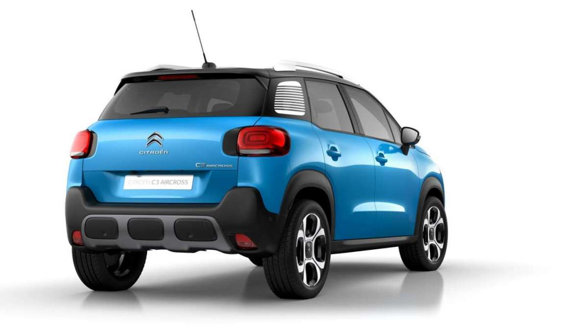 Citroen C3 Aircross Francoforte