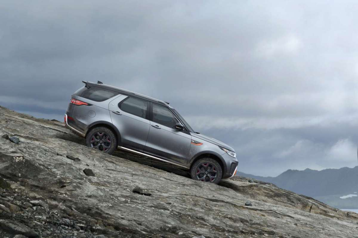Land Rover Discovery SVX dimensioni