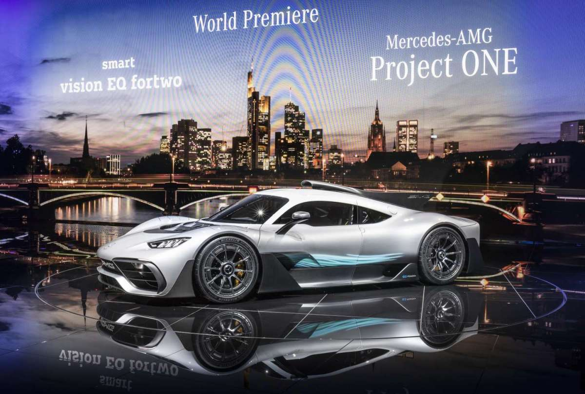 Mercedes Project One Concept