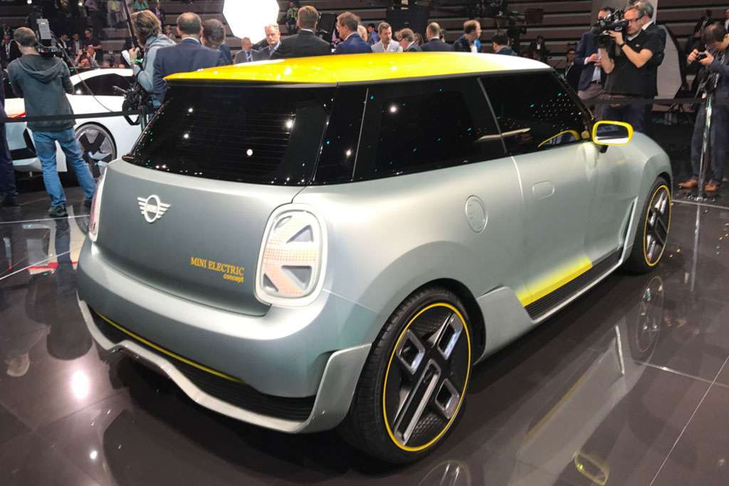 Mini Electric Concept  posteriore