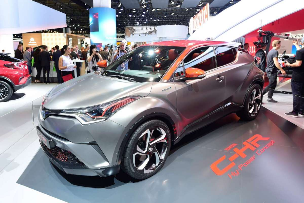 Toyota C-HR Hy-Power al Salone di Francoforte 2017