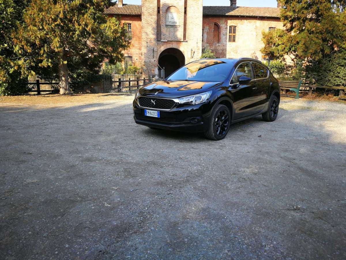 DS 4 Crossback, test drive