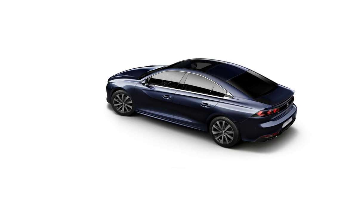 Peugeot 508-laterale posteriore