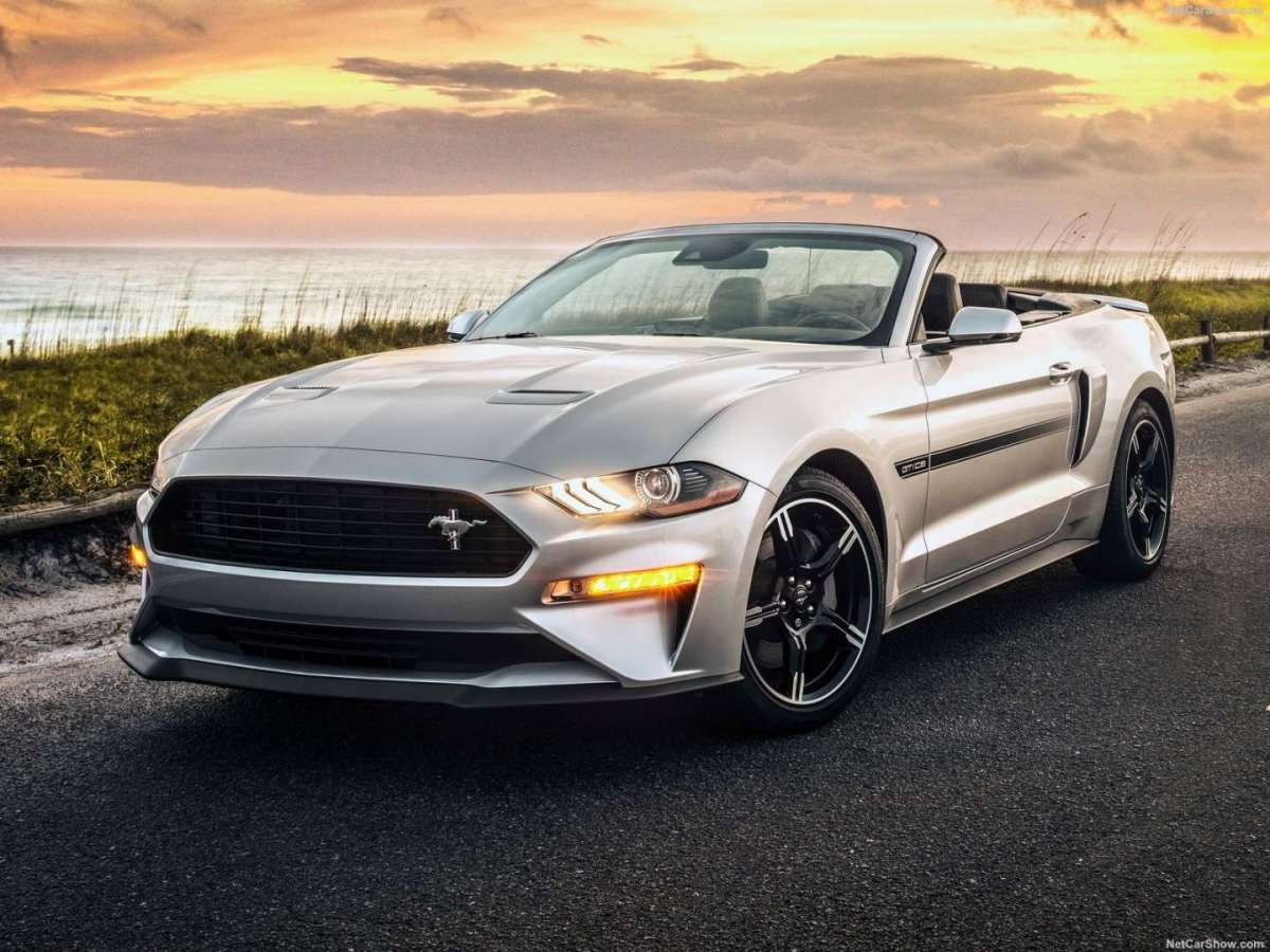 Ford Mustang GT California Special 2018 Design