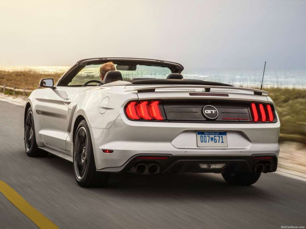 Ford Mustang GT California Special 2018 Potenza