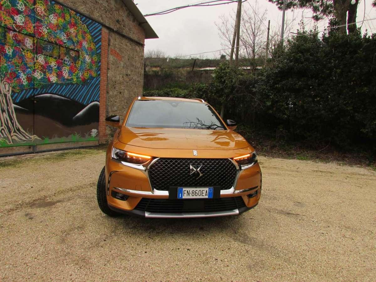 Frontale del DS 7 Crossback