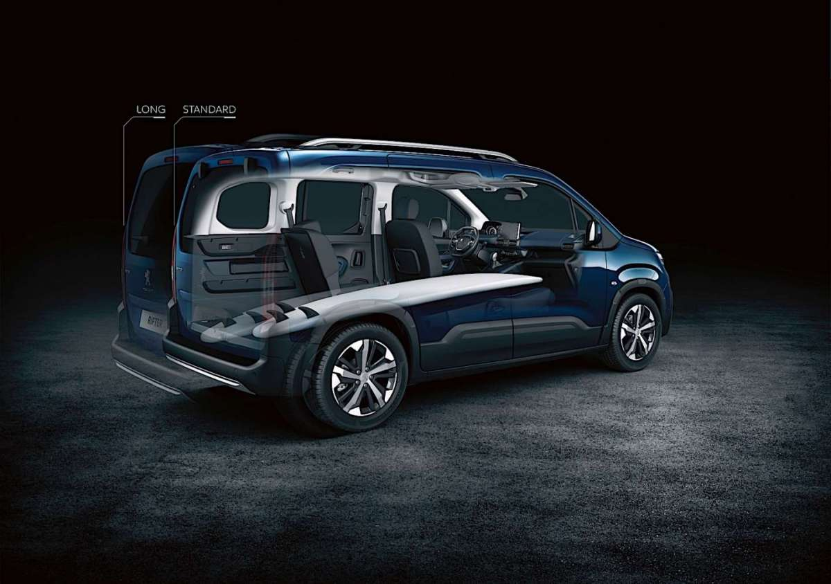 Nuovo Peugeot Rifter Comfort