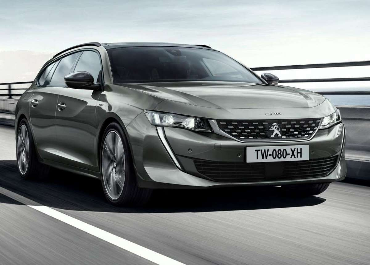 Peugeot 508 Station Wagon anteriore