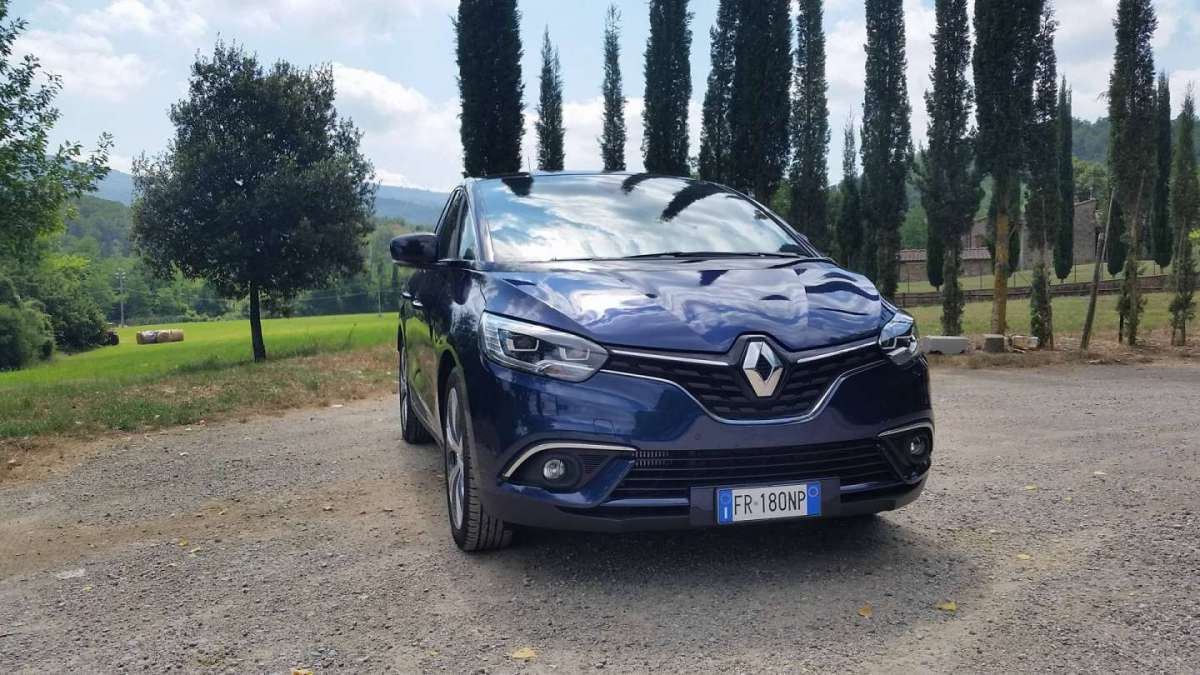 Renault Scenic, test drive