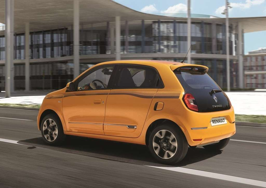 Renault Twingo 2019 in marcia