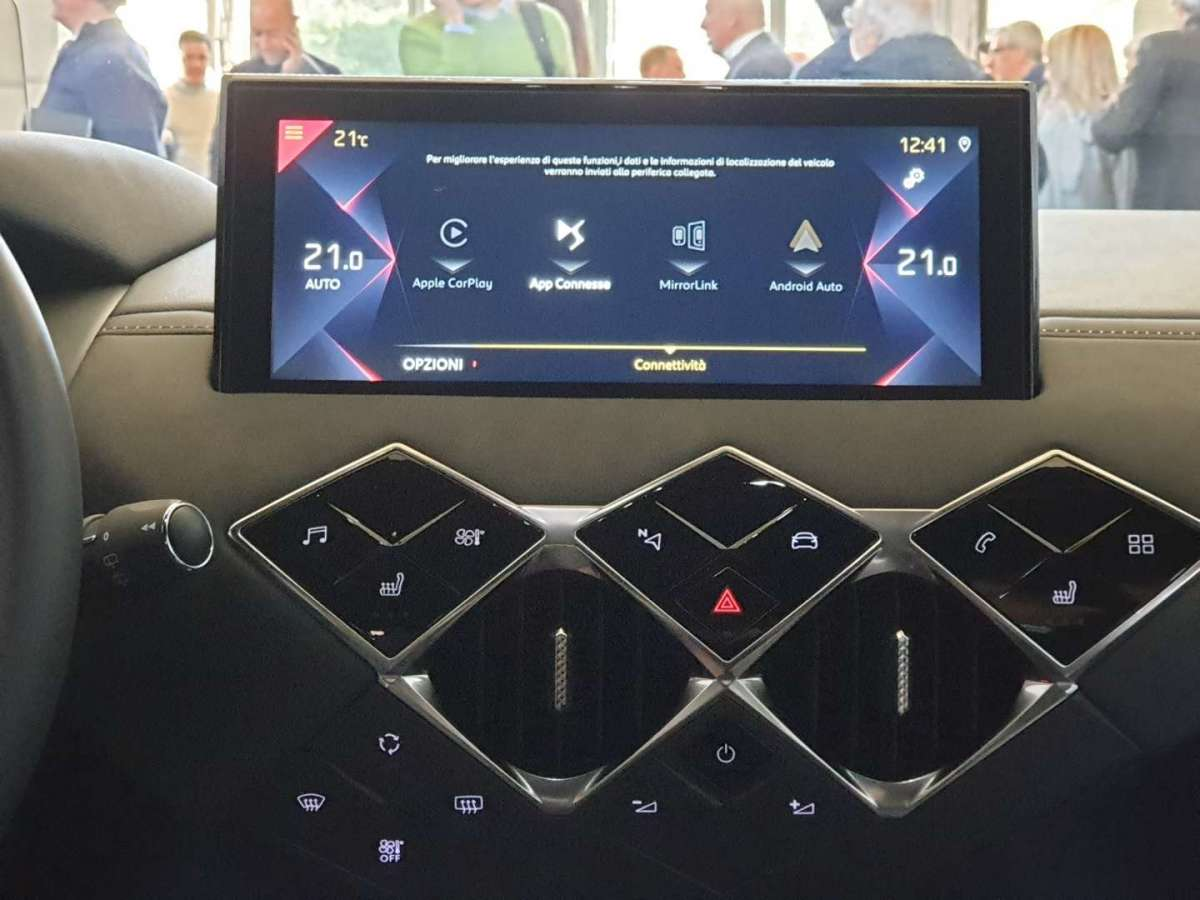 DS 3 Crossback infotainment