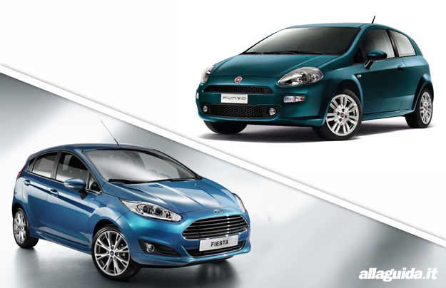 Ford Fiesta vs Fiat Punto: confronto tra utilitarie [FOTO e VIDEO]