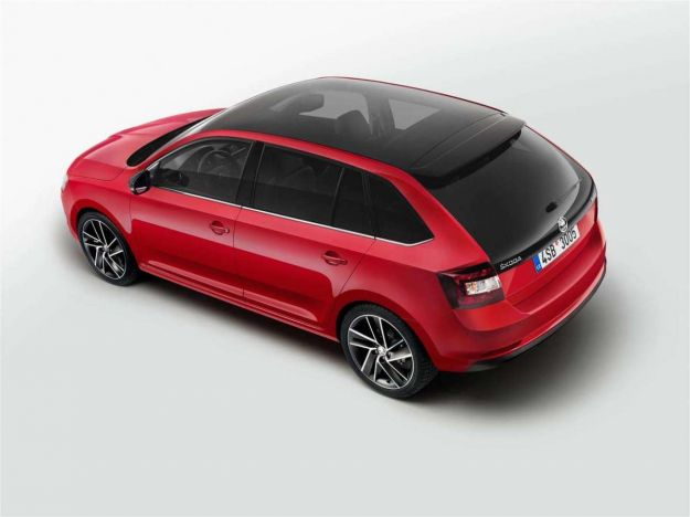 skoda rapid spaceback 2017 restyling