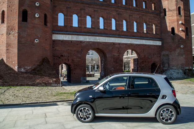 smart forfour 90 turbo