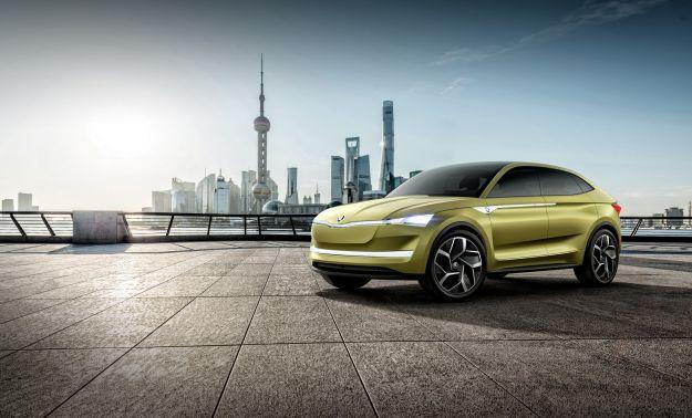 Skoda Vision E concept, dal Salone di Shanghai 2017 verso un modello elettrico