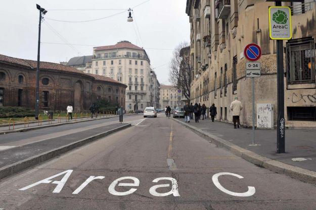 Entrata in vigore dell'Area C per il centro di Milano
