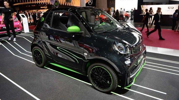 smart Electric Drive salone di Parigi 2016