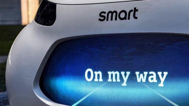 smart elettrica a guida autonoma