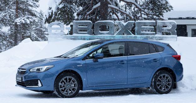 Subaru Impreza, ancora più efficiente con l'ibrido e-boxer