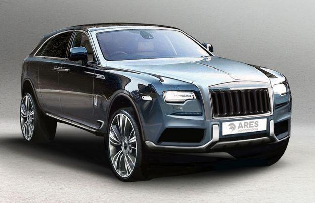suv Rolls Royce modificato da Ares